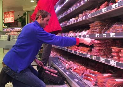 Plaatsing supermarkt Deen