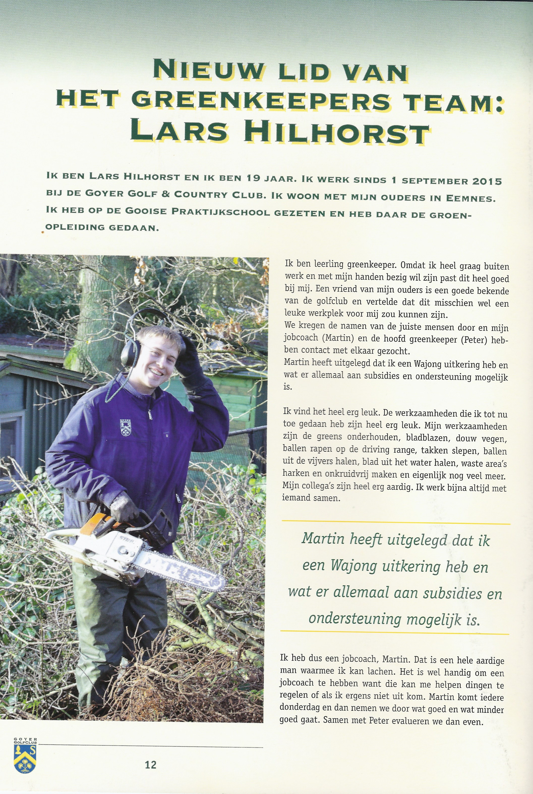 interview Lars pag. 1